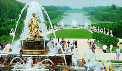 Fountain Latone in Versailles