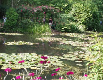 Giverny's gardens