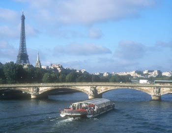 Seine River and Eiffel Tower
