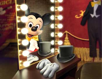 Mickey in Mirror